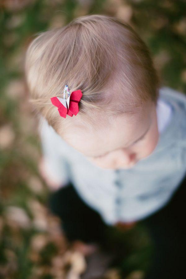 """סיכות ראש מעוצבות לתינוקות, סיכות פרפרי אוריגמי בד , סיכות תיק תק קטנות, סיכות 3 ס""""מ, סיכות צבעוניות, אקססוריז לשיער לתינוקות, מתנה לתינוקת, מתנת לידה, מתנה לגיל שנה, מורן אלחלל אוריגמי בד"""
